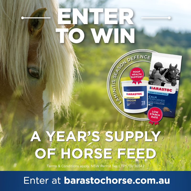 Win a Year of Horse Feed