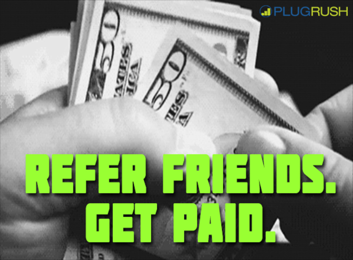 How to build your referral network and earn passive income with PlugRush