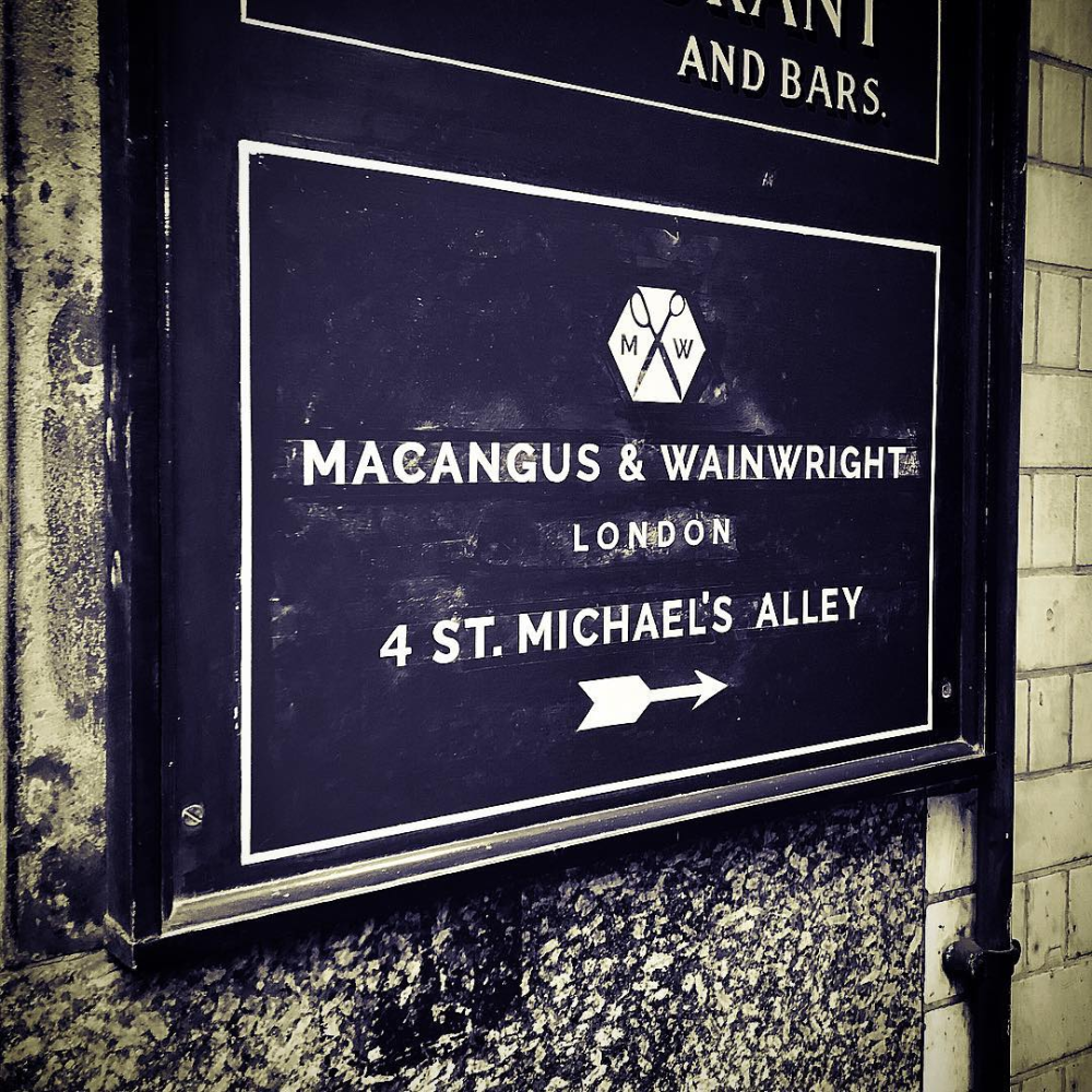 MacAngus & Wainwright, Bespoke City Tailors