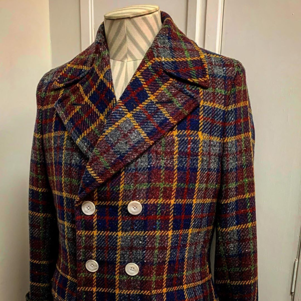 dashing tweed coat