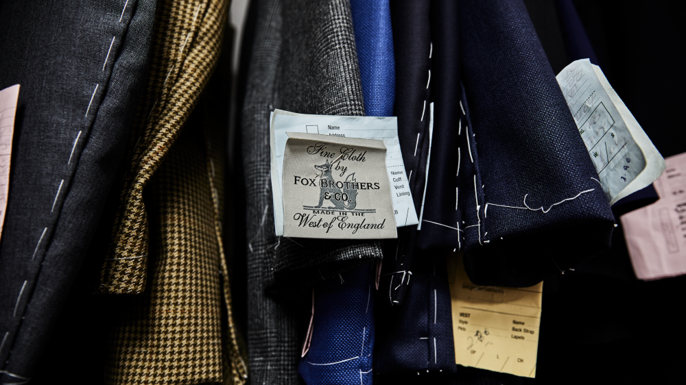 Each and every one of our bespoke garments is handmade for you, right here in the Square Mile.