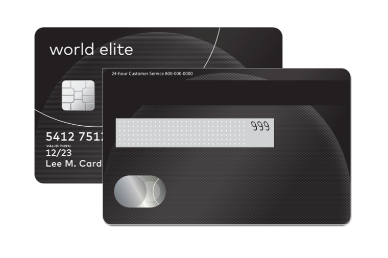 Mastercard World Elite Example
