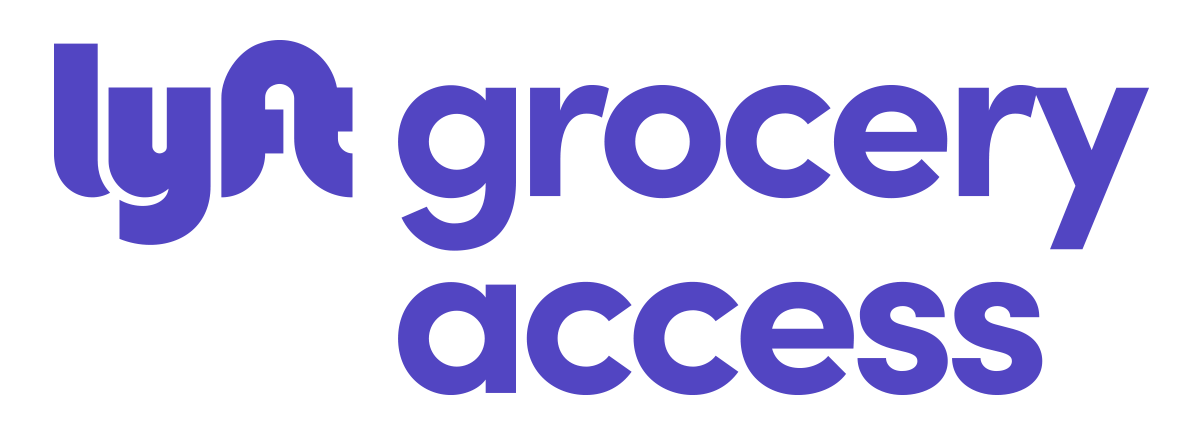 Lyft Grocery Access logo
