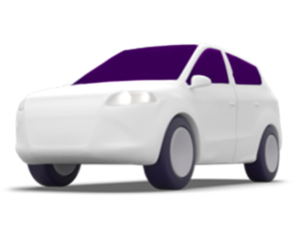Lyft Rentals: Illustration of  rental car key