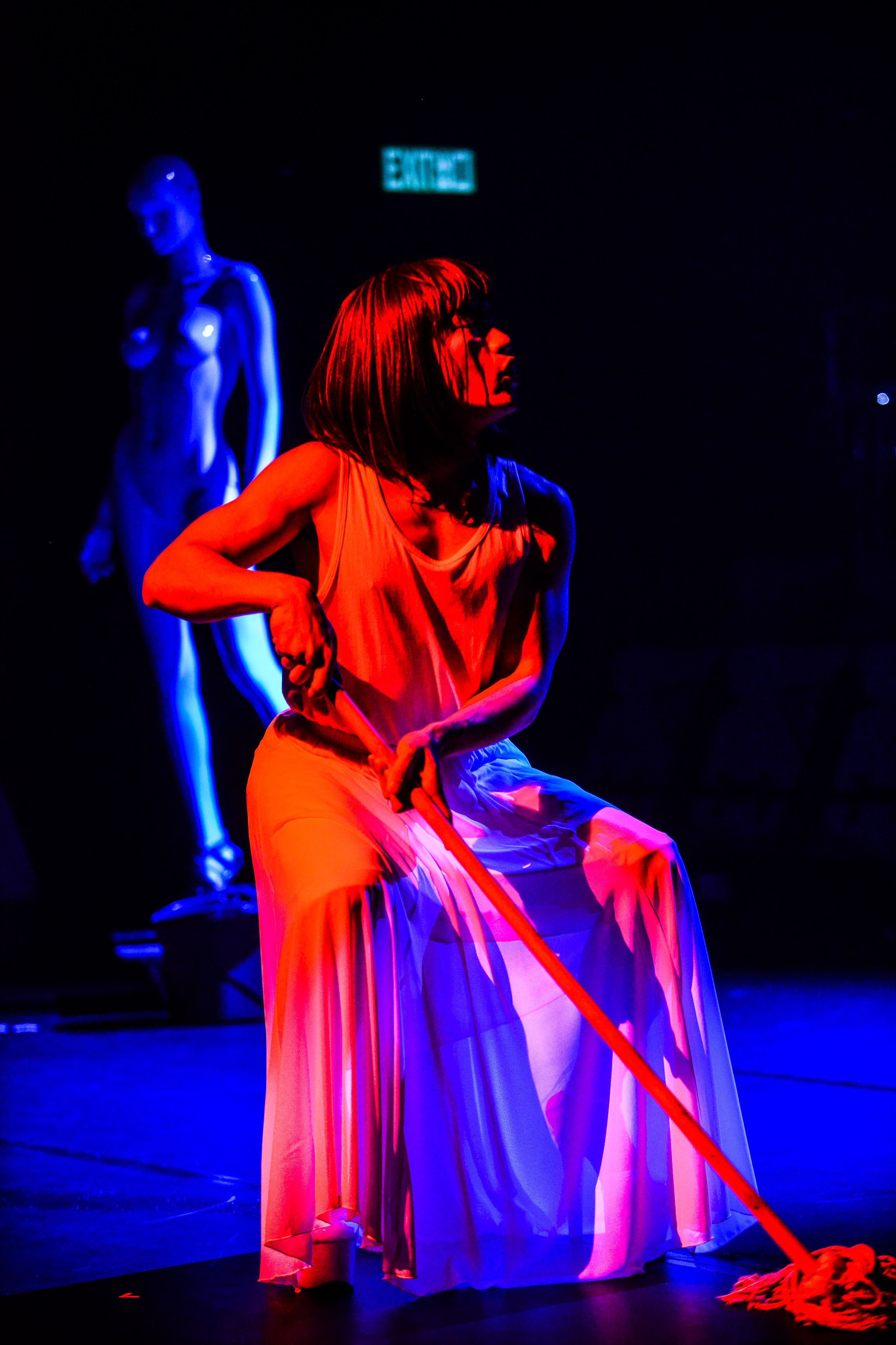 The Furies Variations, Rooftop Productions Theatre Hong Kong 2018 | Featuring: Yau Fuk Wing | Tagged as: Show, The Furies Variations | Photo: Fung Wai Sun |  (Rooftop Productions • Hong Kong Theatre Company)