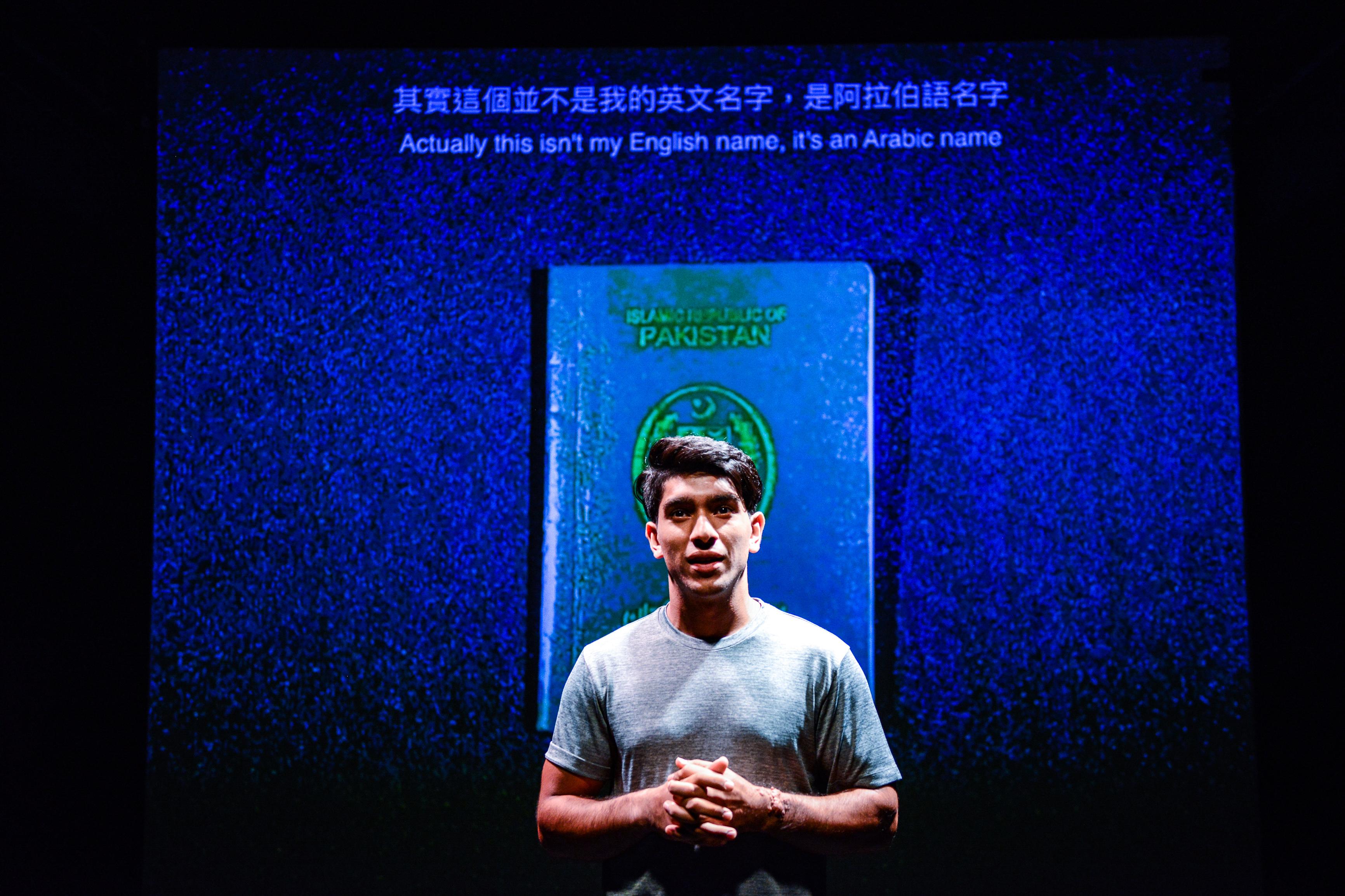 《山下的證詞》/人物:巫加沙/類別:演出、《山下的證詞》/攝影:Fung Wai Sun/(天台製作 • 香港專業劇團)