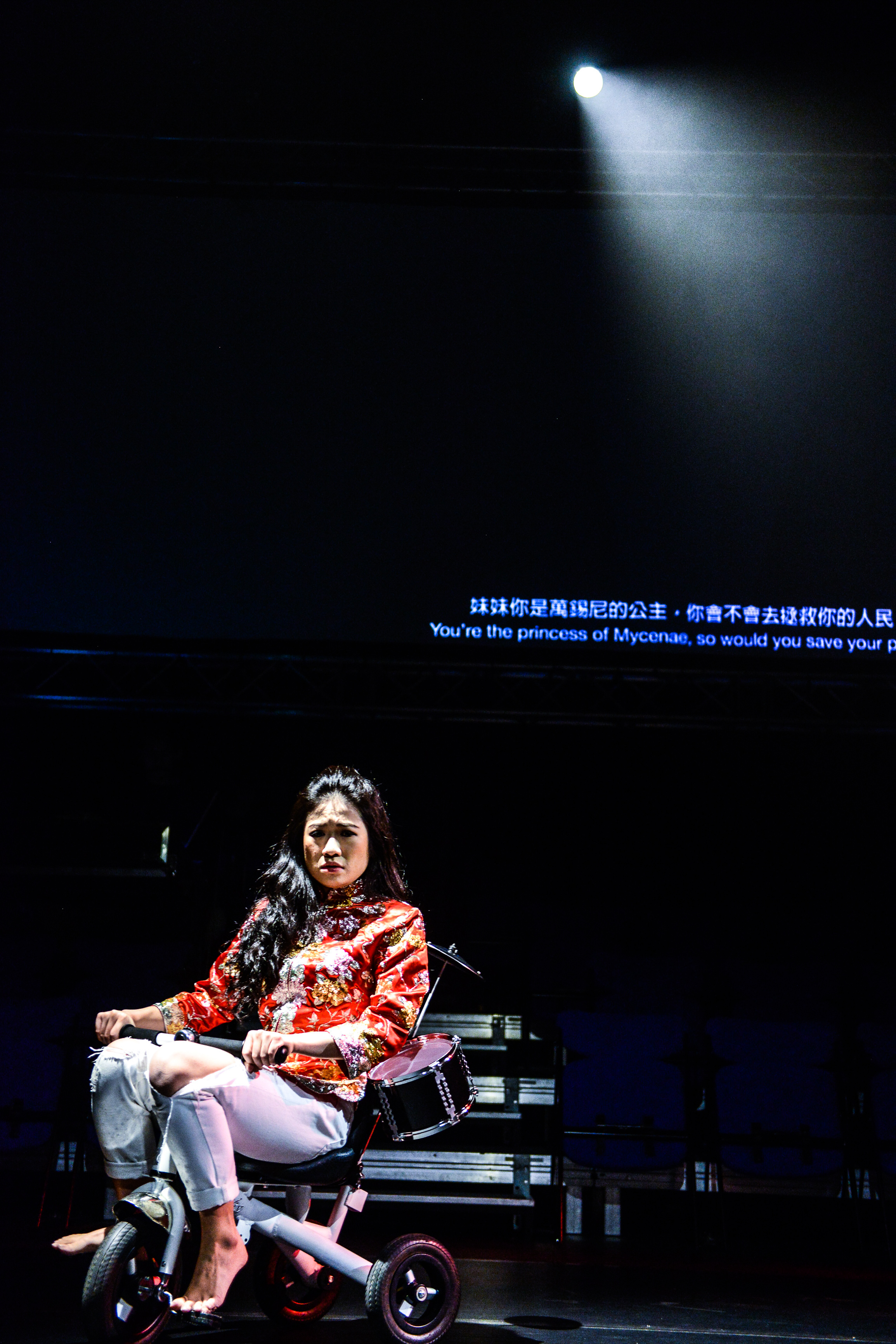 The Furies Variations, Rooftop Productions Theatre Hong Kong 2018 | Featuring: Chan Wing Shuen | Tagged as: Show, The Furies Variations | Photo: Fung Wai Sun |  (Rooftop Productions • Hong Kong Theatre Company)