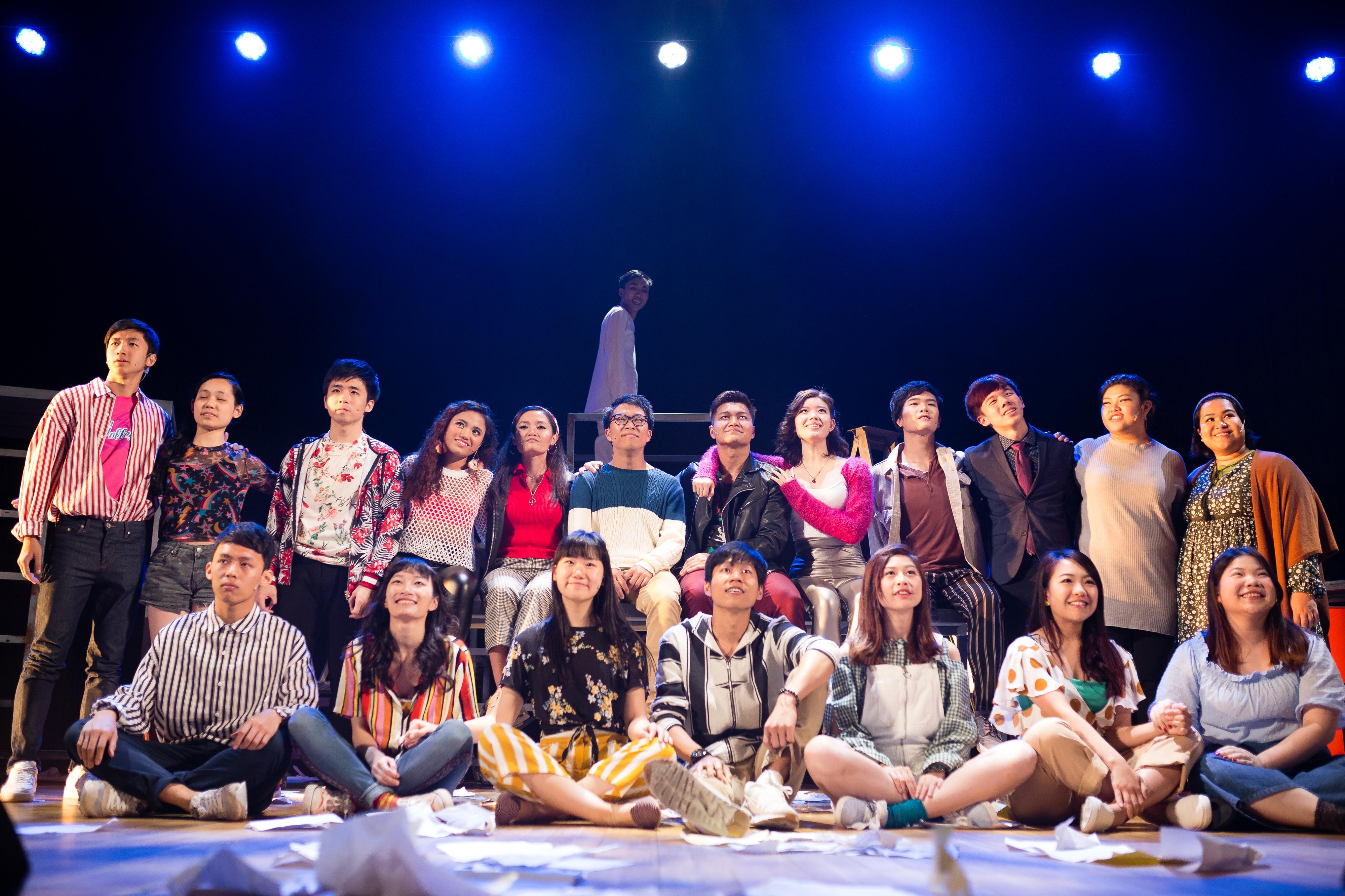Rent/人物:Basnet Tusar、簡淑梅/類別:School Production、演出/攝影:艾浩家/(天台製作 • 香港專業劇團)
