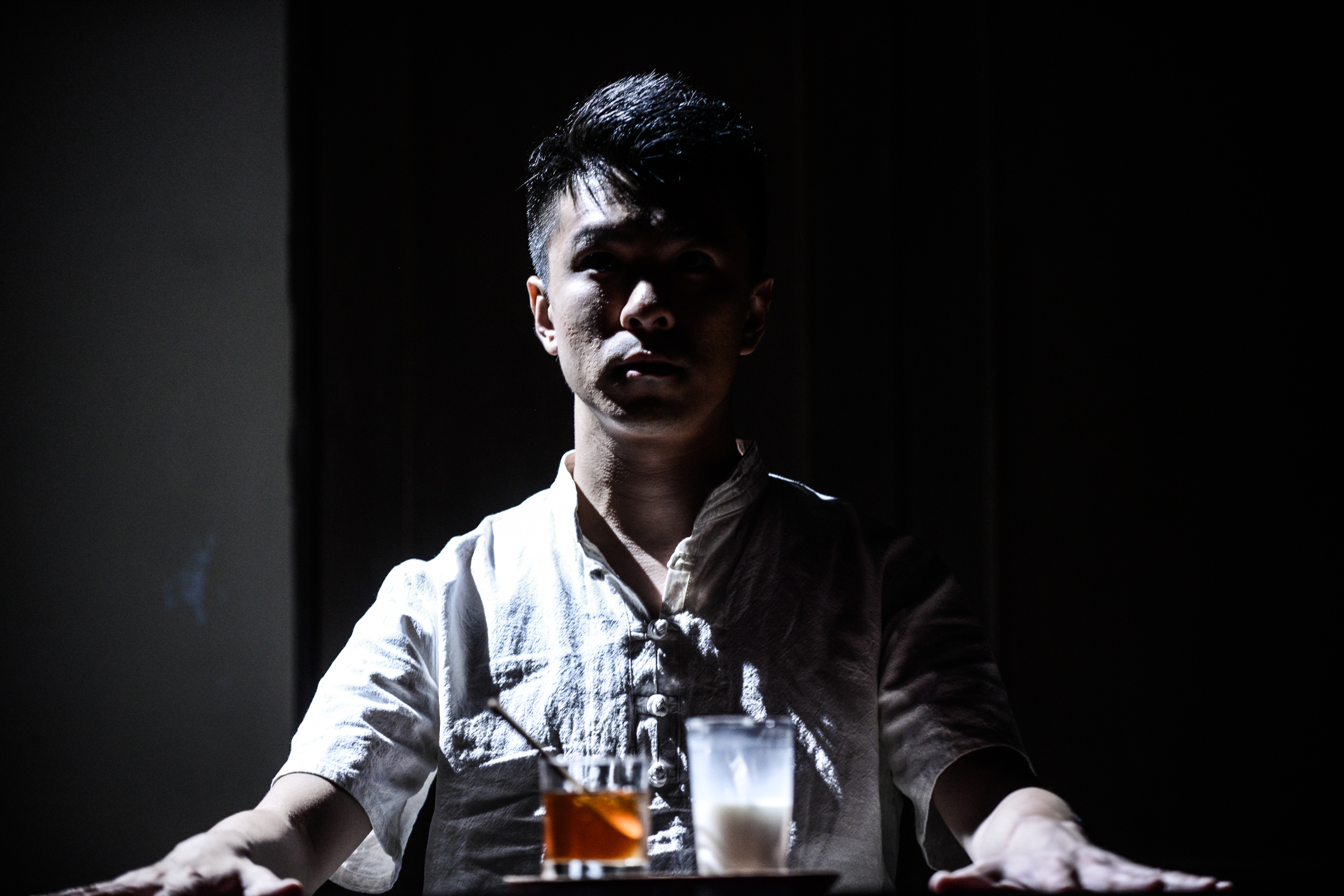 Milk and Honey | Featuring: Billy Sy | Tagged as: Milk and Honey, Show | Photo: Fung Wai Sun |  (Rooftop Productions • Hong Kong Theatre Company)