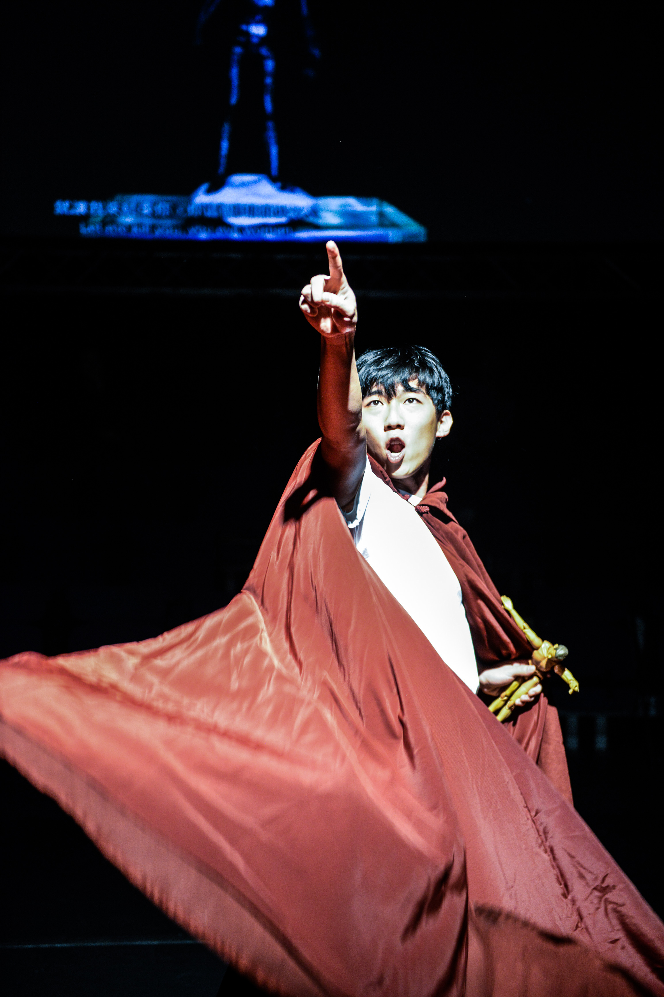 It is you that has brought this fate upon yourself, not I | Featuring: Chou Henick | Tagged as: Show, The Furies Variations | Photo: Fung Wai Sun |  (Rooftop Productions • Hong Kong Theatre Company)