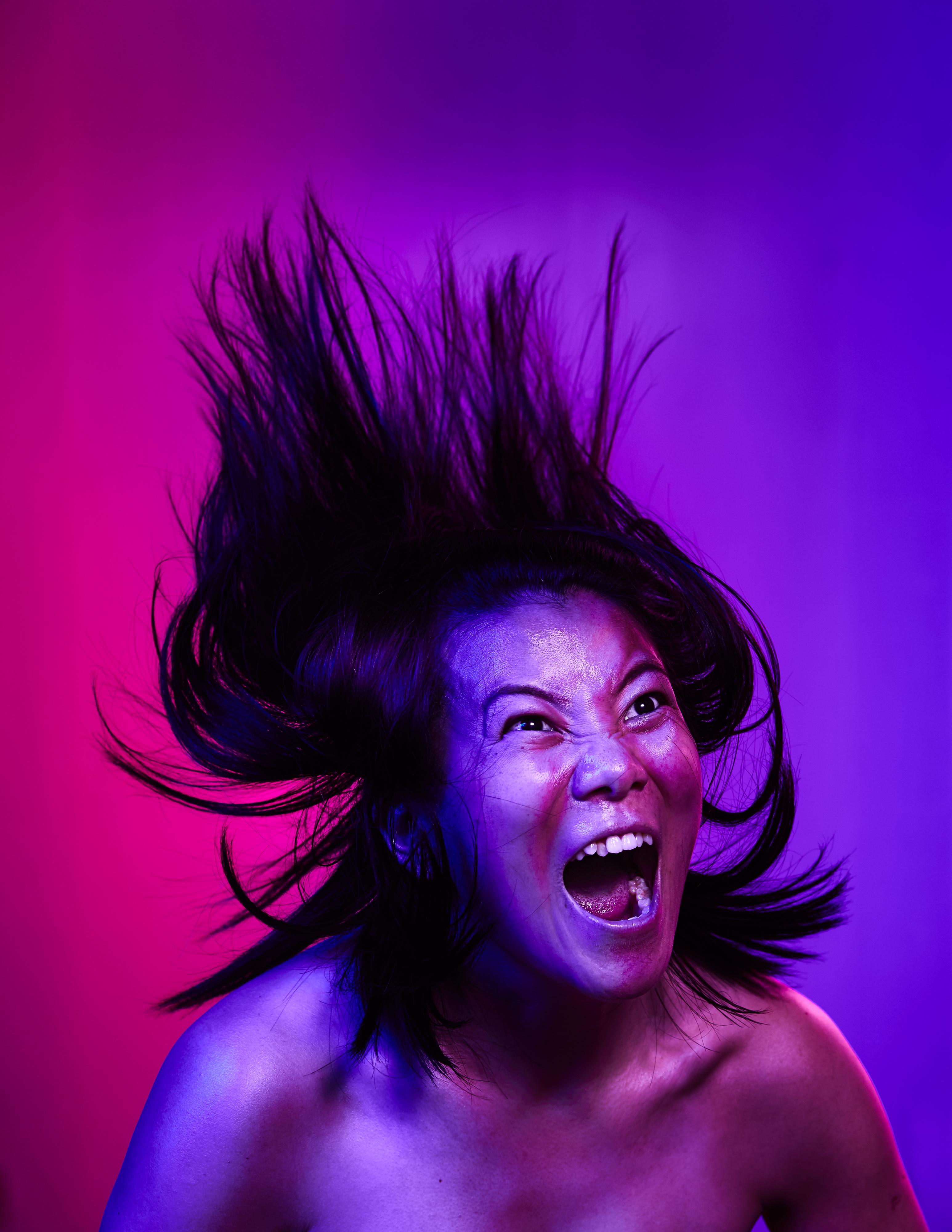 《復仇變奏曲》/人物:黃安婷/類別:宣傳照片、《復仇變奏曲》/攝影:Ivor Houlker/(天台製作 • 香港專業劇團)