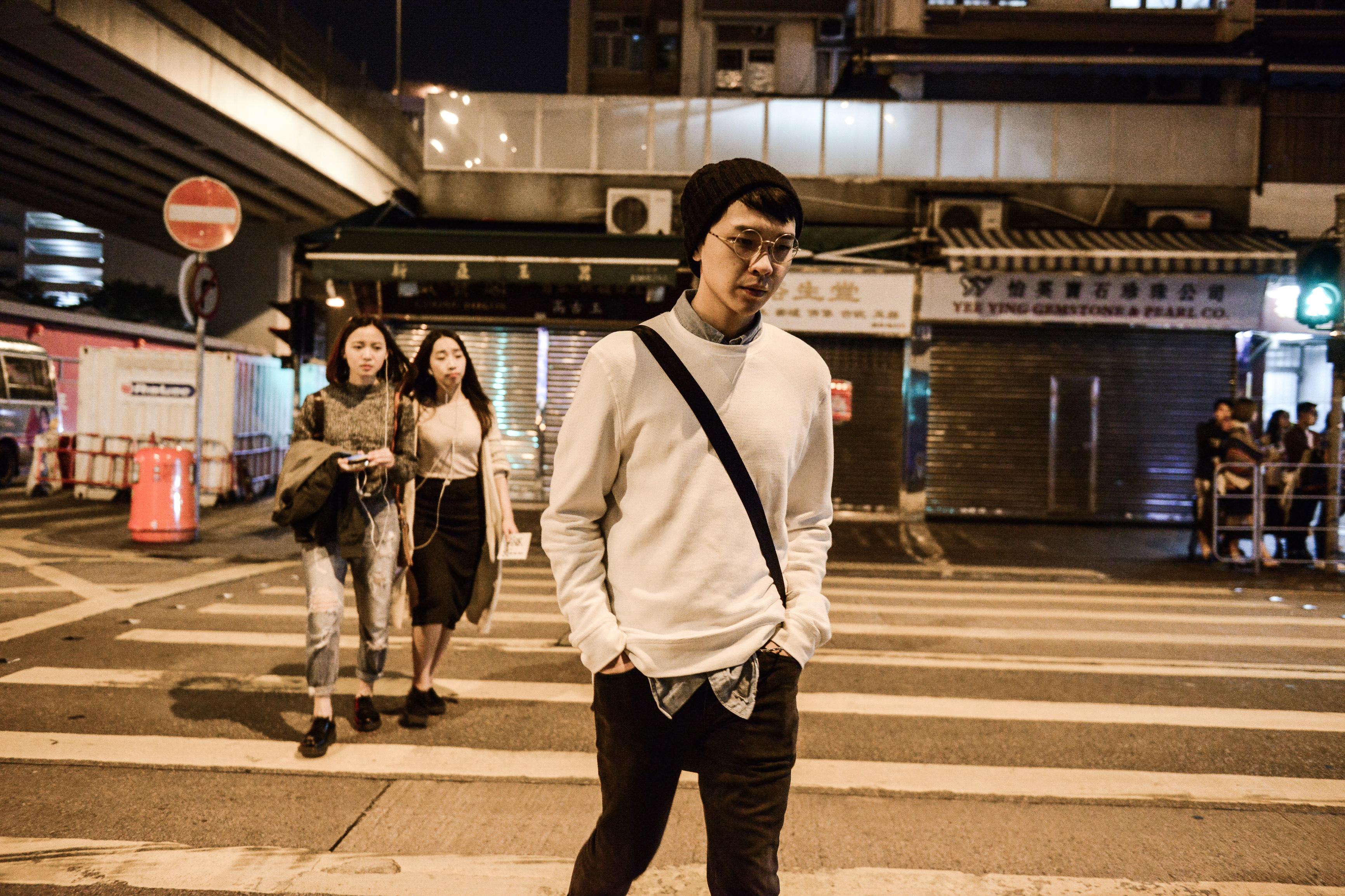 《消失的海岸線》/人物:吳景隆/類別:《消失的海岸線》、演出/攝影:Fung Wai Sun/(天台製作 • 香港專業劇團)