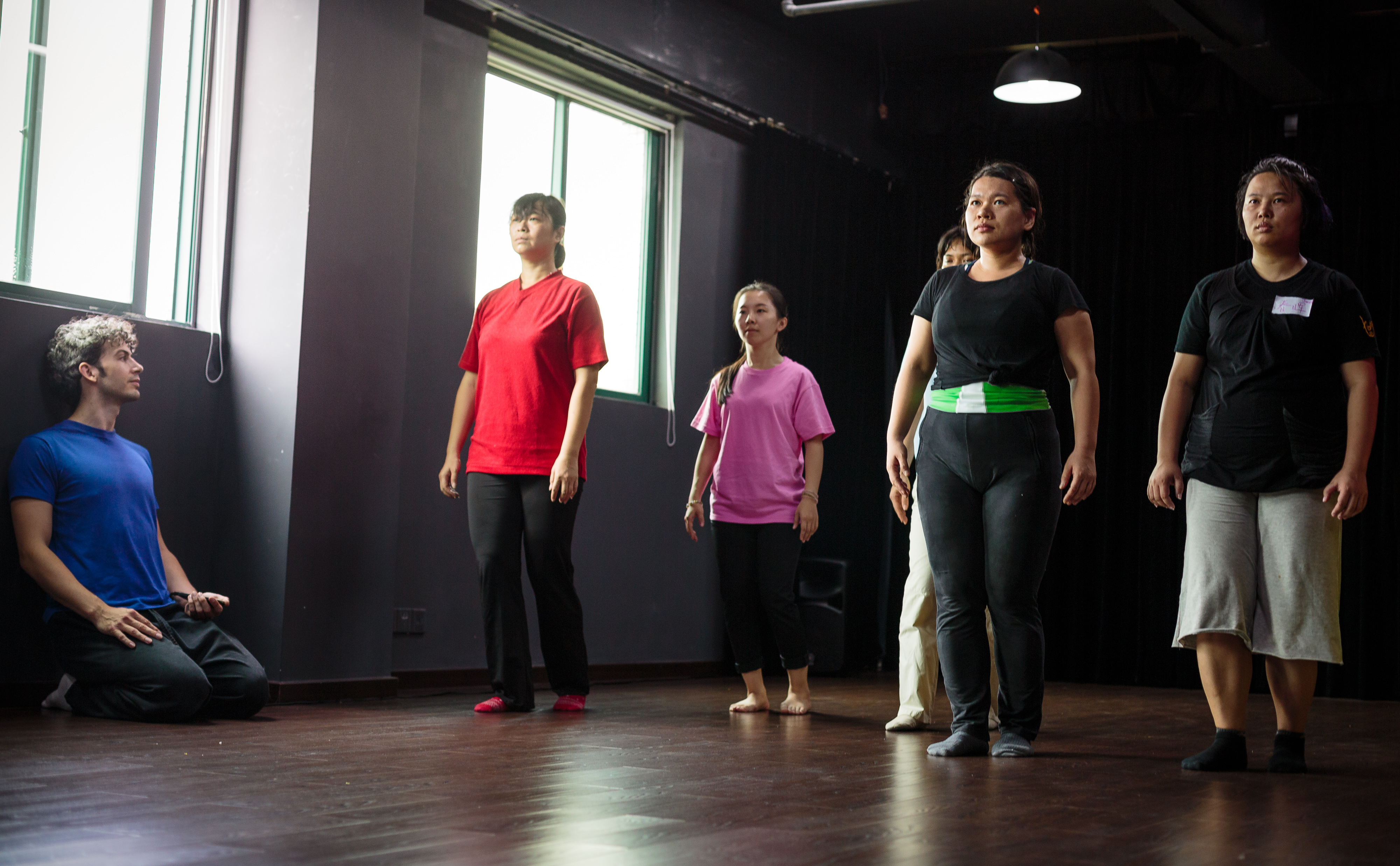 Rooftop Productions • Professional Actor Training in Hong Kong | Practicing theatre techniques in China
