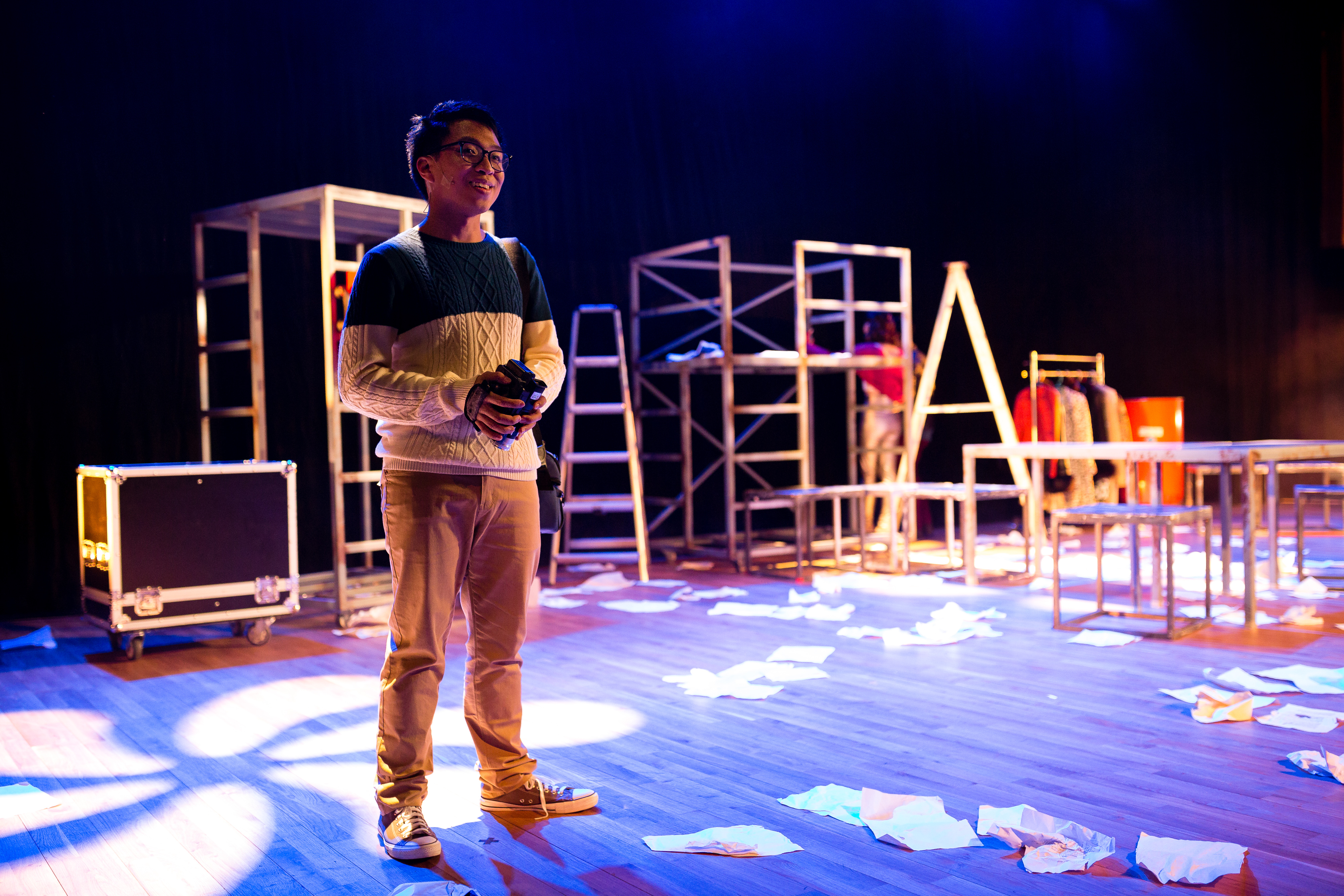 RENT | Tagged as: Rent, Show | Photo: Ivor Houlker |  (Rooftop Productions • Hong Kong Theatre Company)