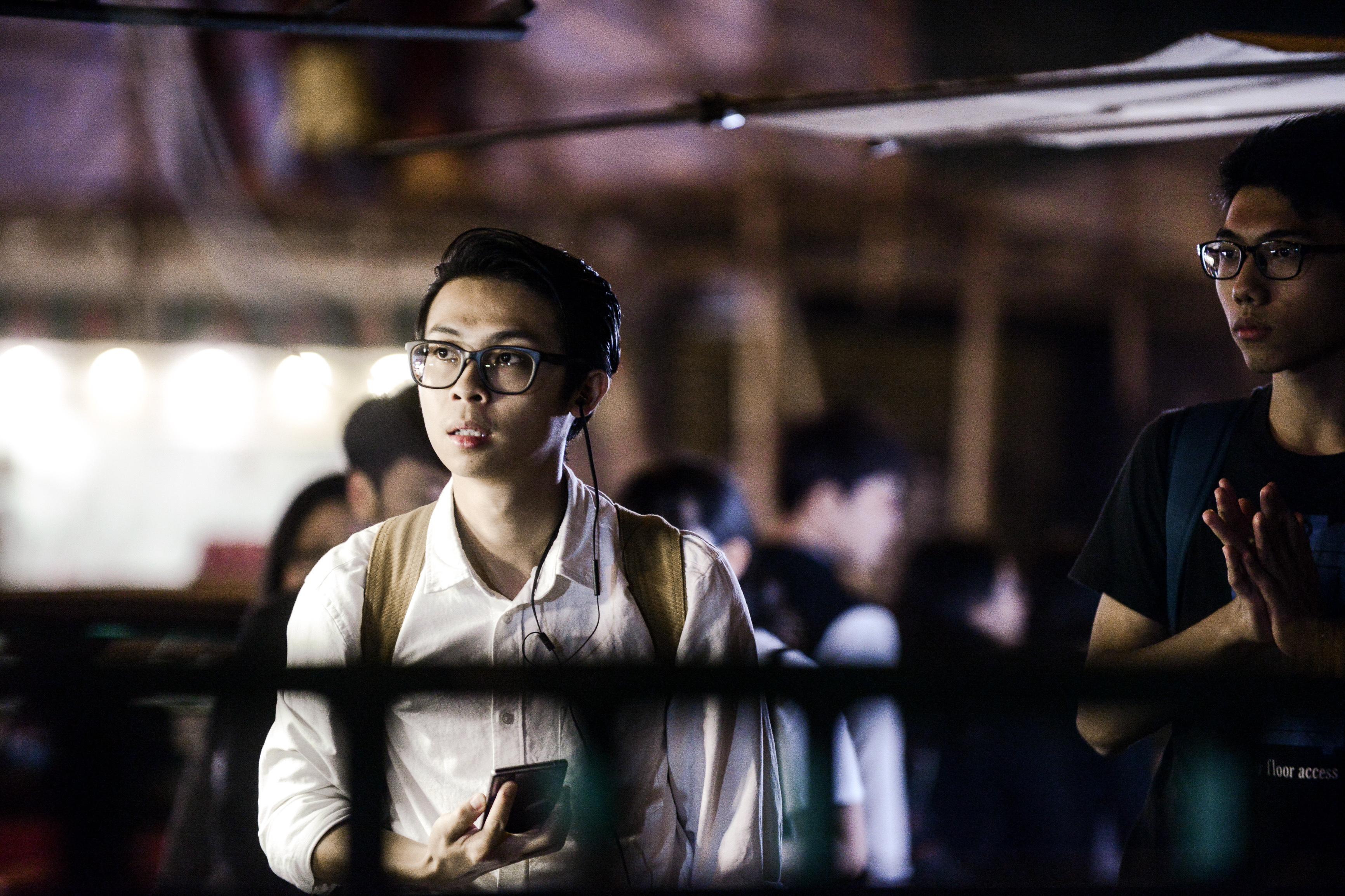 《消失的海岸線》/人物:趙展禧/類別:《消失的海岸線》、演出/攝影:Fung Wai Sun/(天台製作 • 香港專業劇團)
