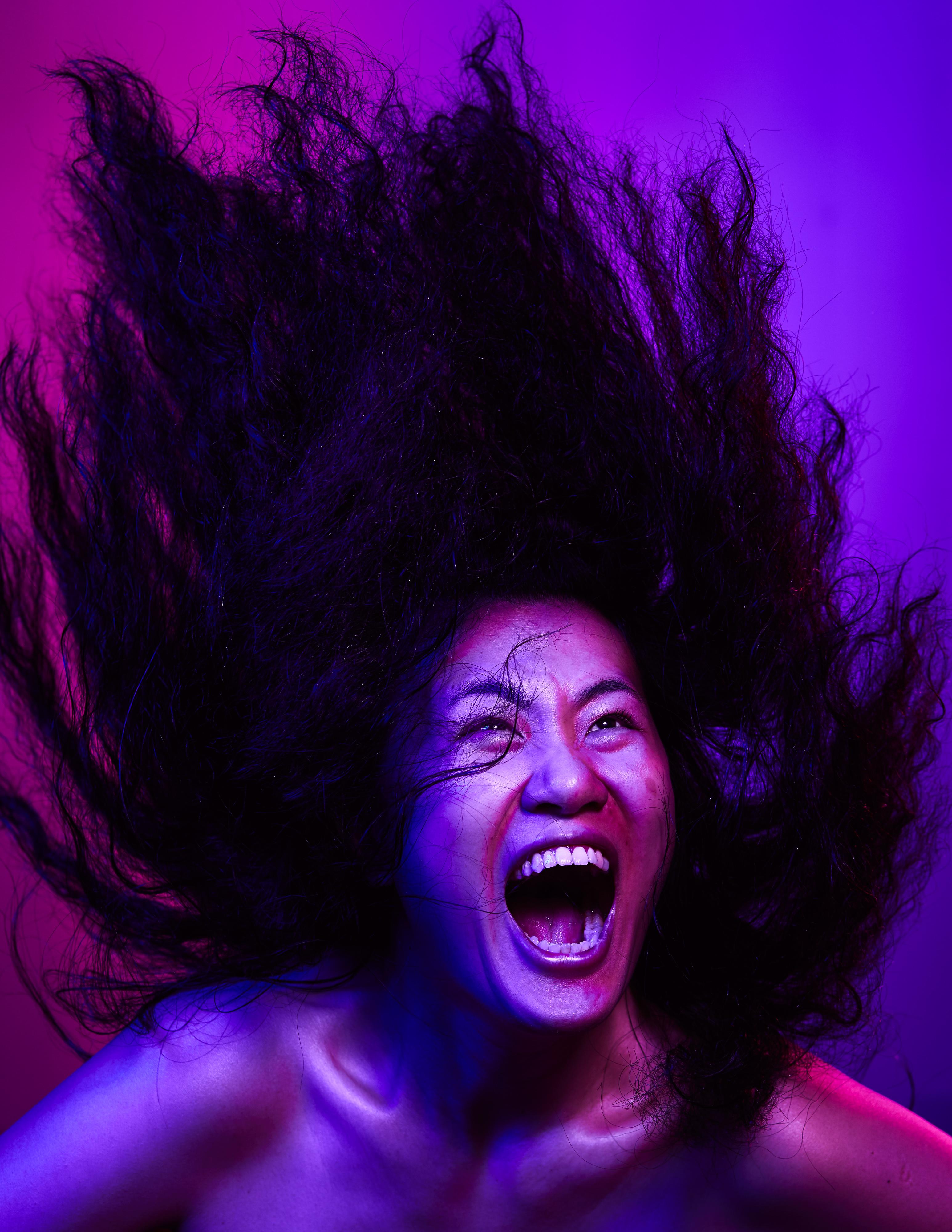 《復仇變奏曲》/人物:李婉晶/類別:宣傳照片、《復仇變奏曲》/攝影:Ivor Houlker/(天台製作 • 香港專業劇團)