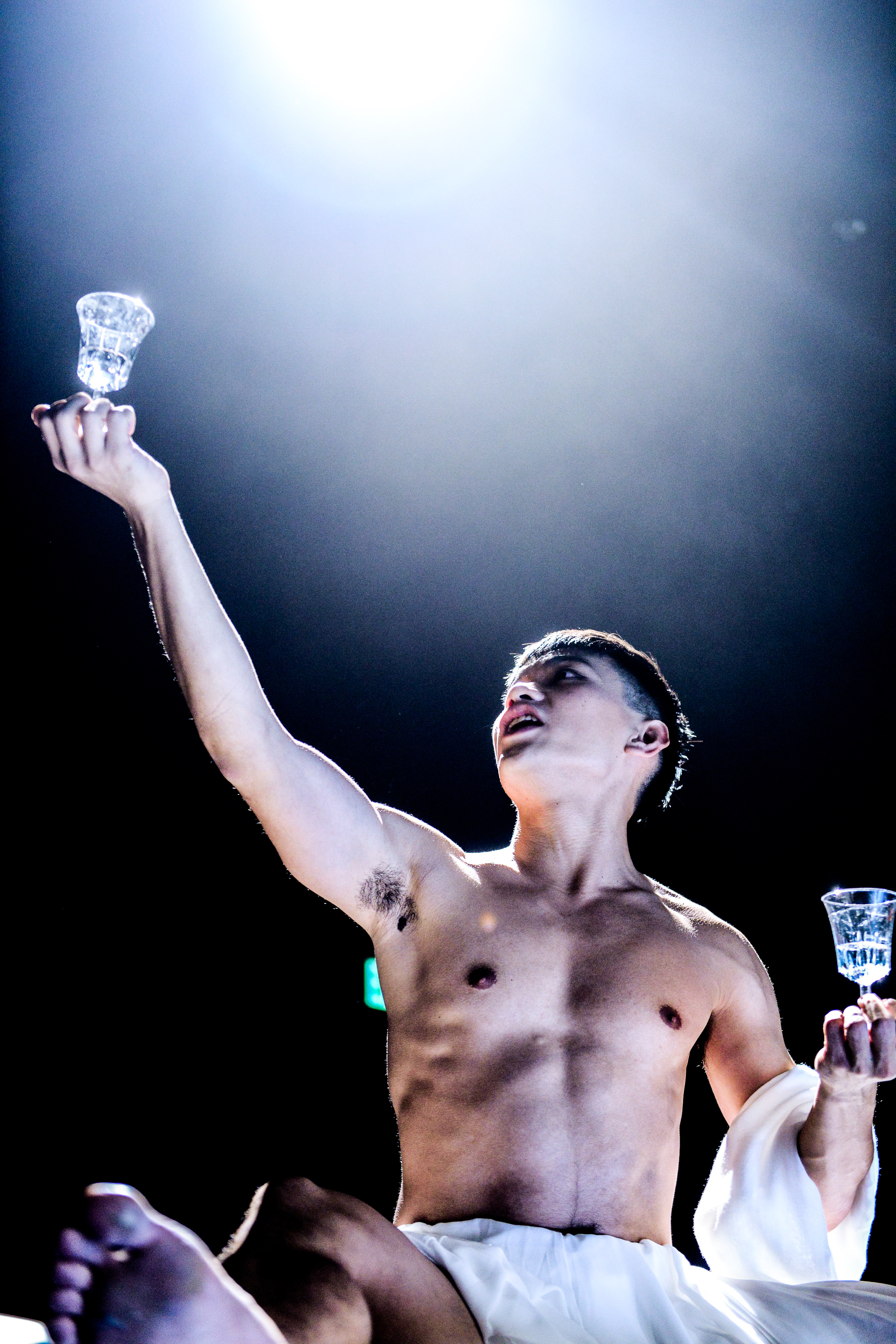 I was tried for blasphemy and sentenced to die | Featuring: Yau Fuk Wing | Tagged as: Show, The Furies Variations | Photo: Fung Wai Sun |  (Rooftop Productions • Hong Kong Theatre Company)