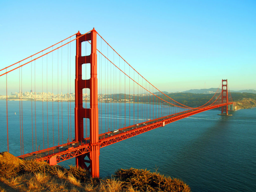 The Golden Gate.