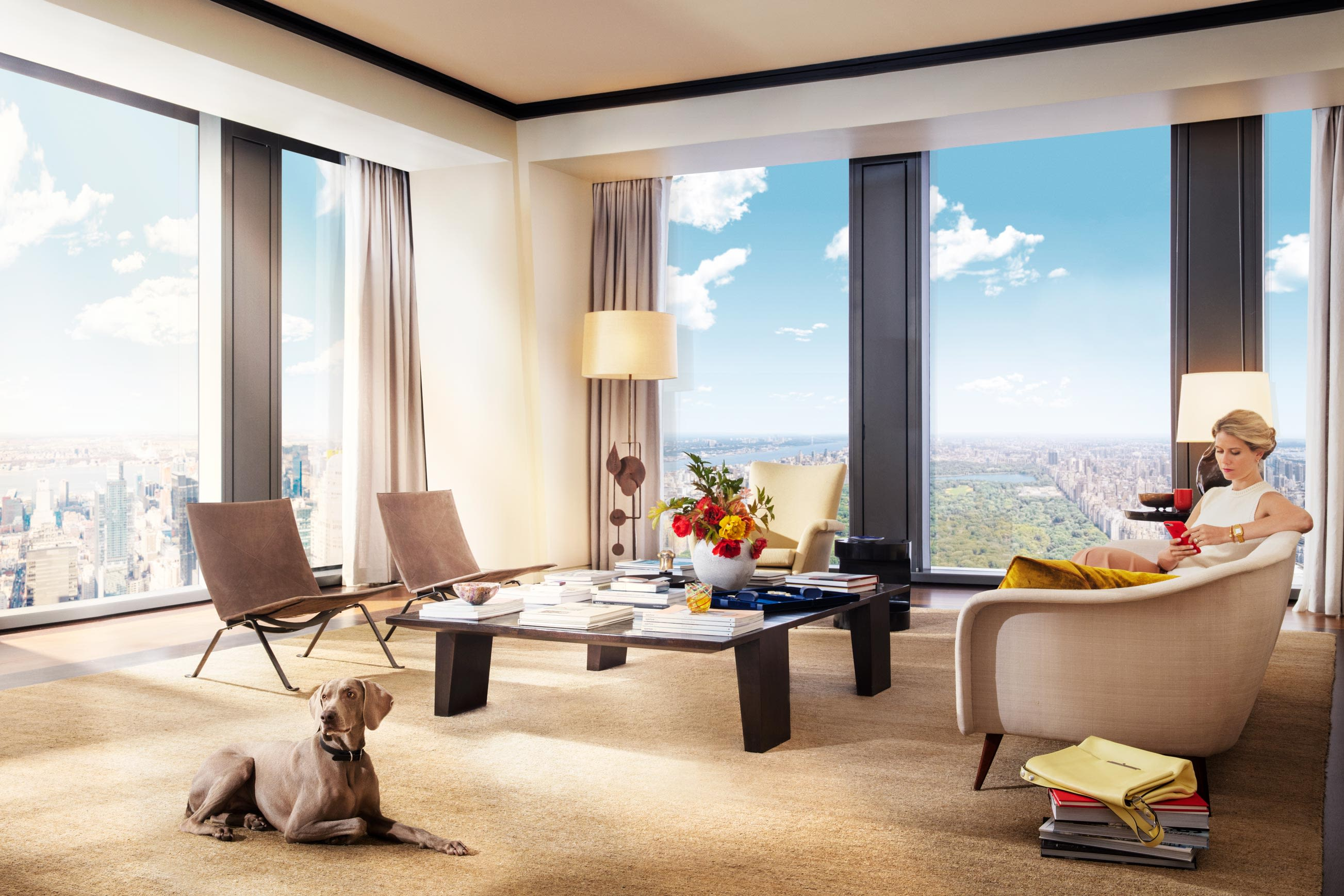 Central Park views from your luxury Midtown Manhattan