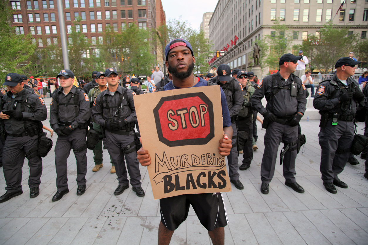 Biden must confront the nation's legacy of racist policing and surveillance