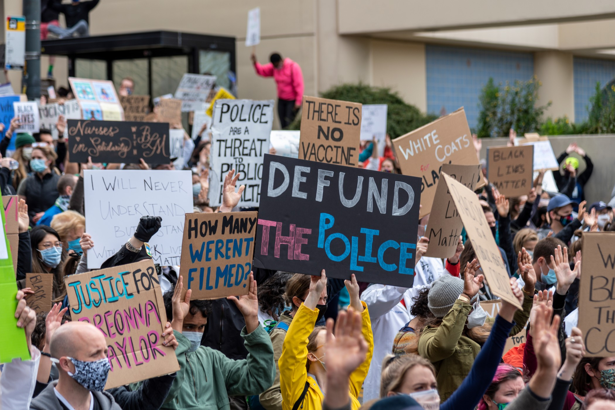 'Defund the police' is not a slogan. It's a demand