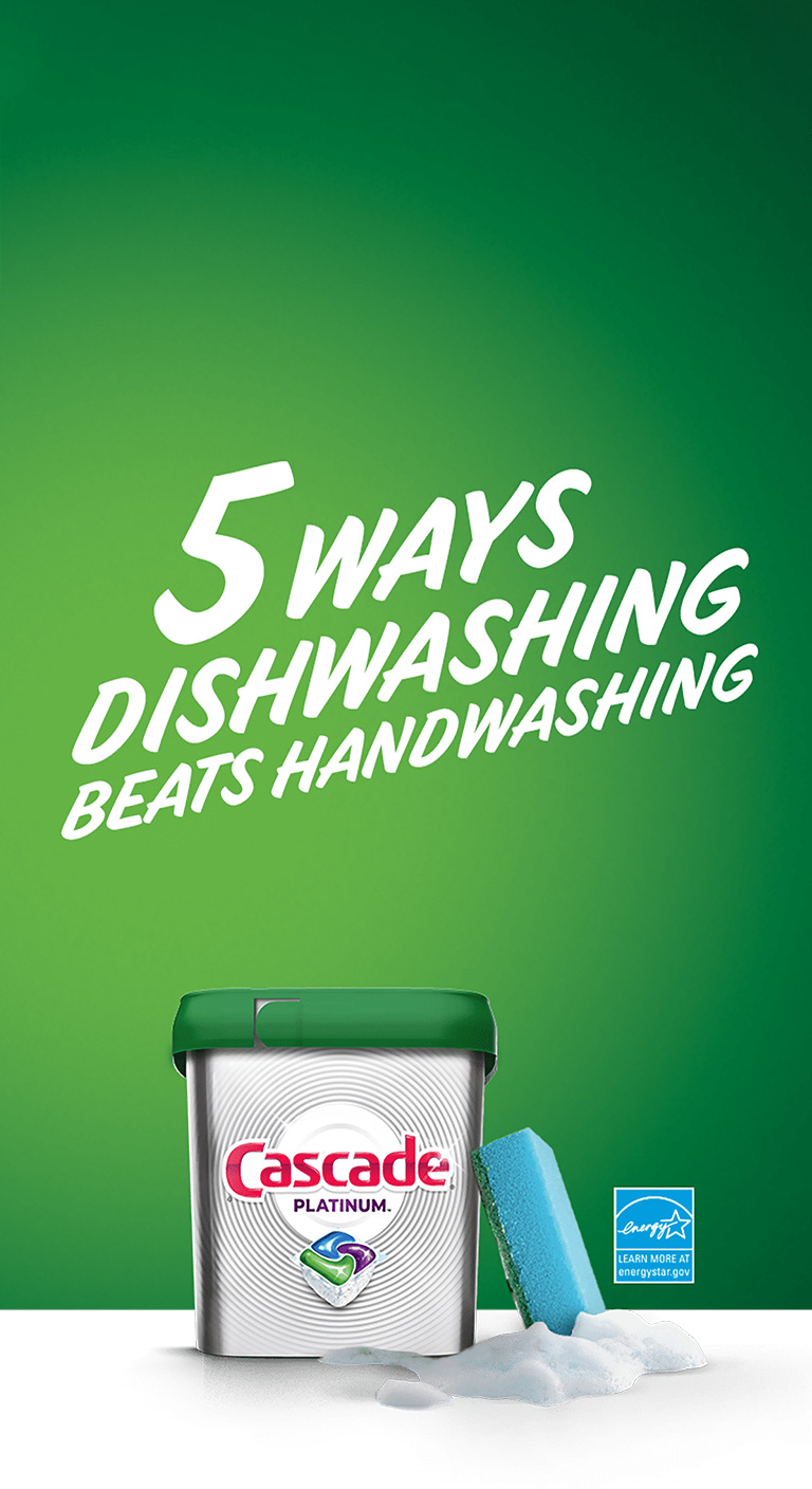 5 ways why dishwashing is better than washing dishes by hand
