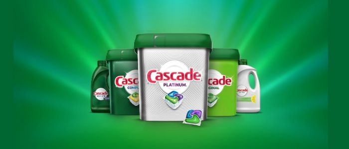 Cascade best products #1 brand for a deep clean