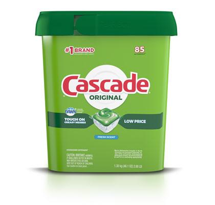 Cascade Original dishwasher pods fresh scent 72 pack container