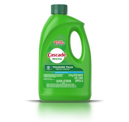 Cascade Original gel dishwashing detergent