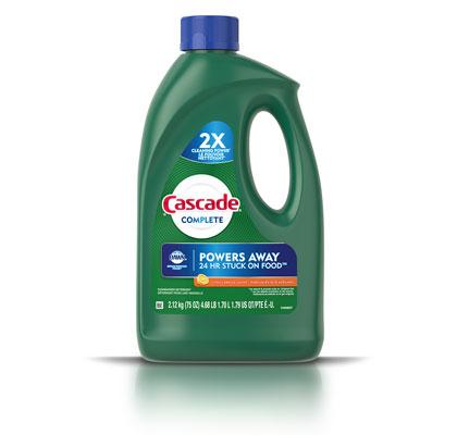 Cascade Complete citrus breeze gel detergent