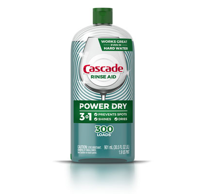 Cascade drying agent Rinse Aid Power Dry 300 loads