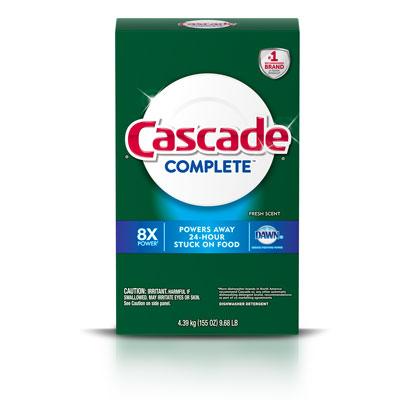 Cascade Complete fresh scent powder dishwashing detergent 155 ounces