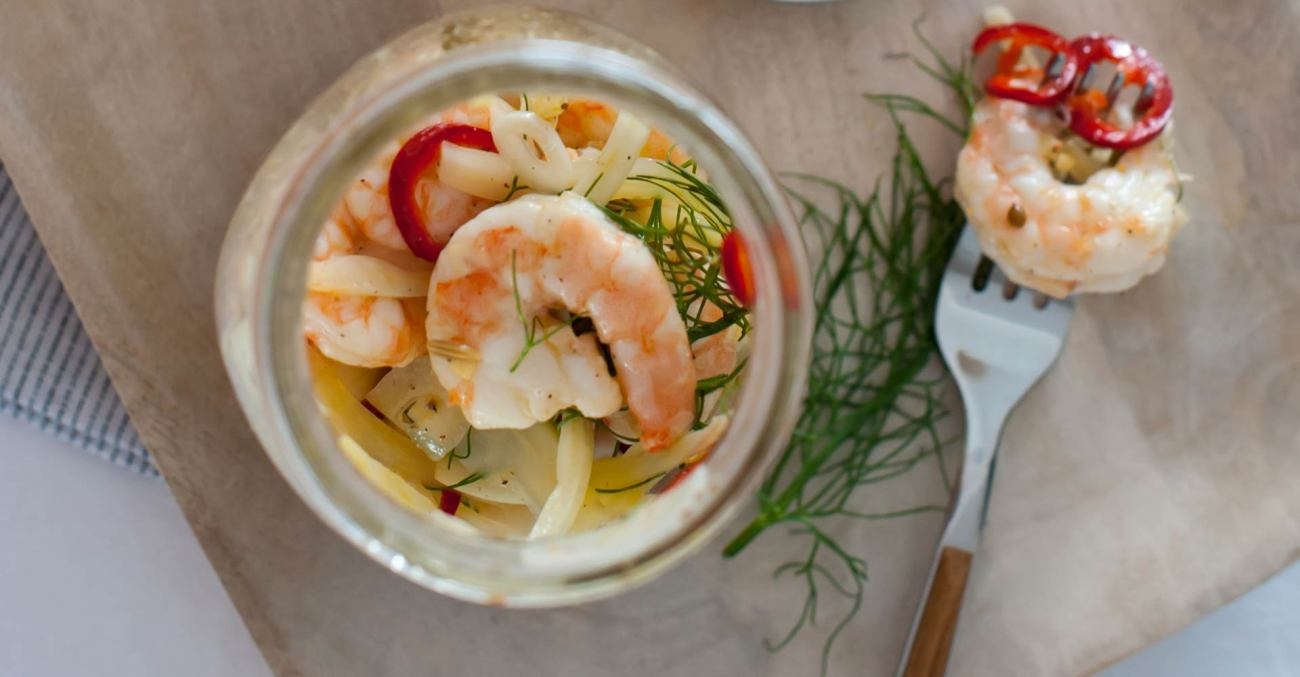 Quick Pickled Shrimp Recipe Primary Image