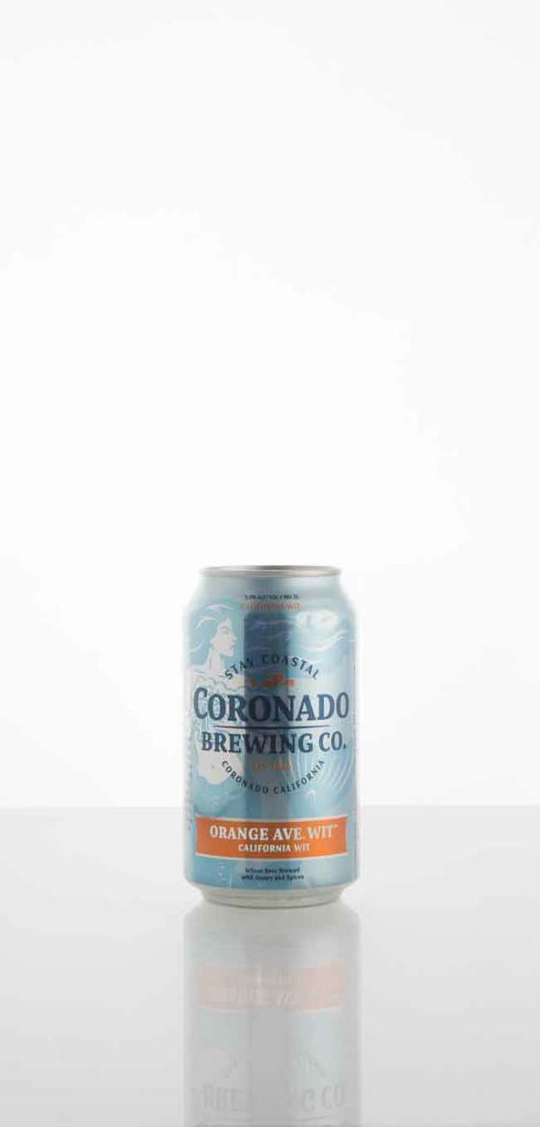 Coronado Brewing Company Orange  Ave. Wit