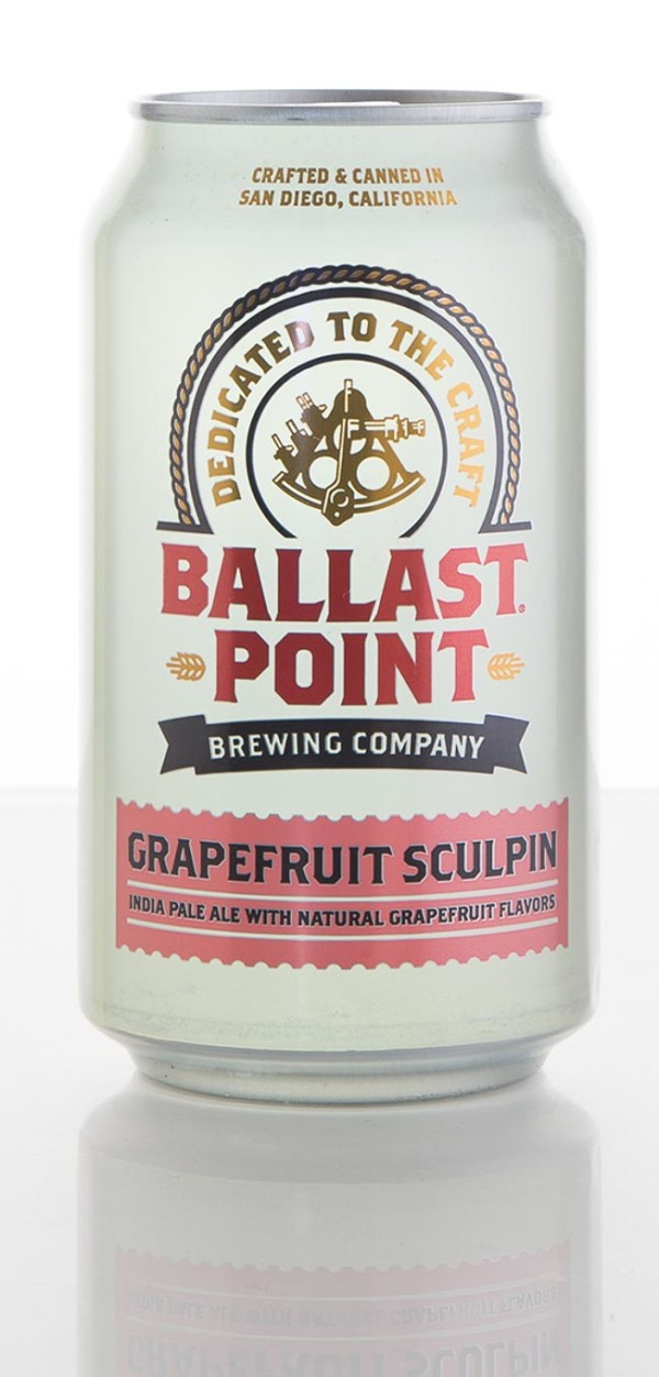 Ballast Point Brewing Company Grapefruit Sculpin