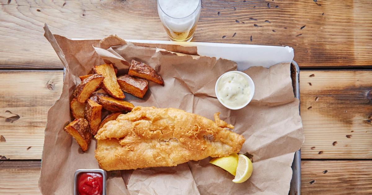 Wisconsin Beer-Battered Fish Fry Recipe