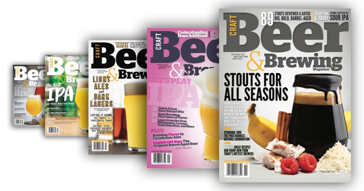 Subscription | Craft Beer & Brewing