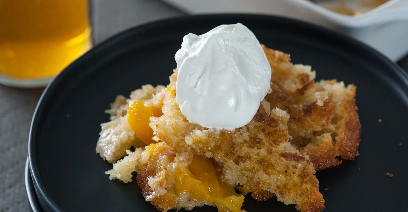 Brown Sugar Peach Cobbler Recipe Primary Image
