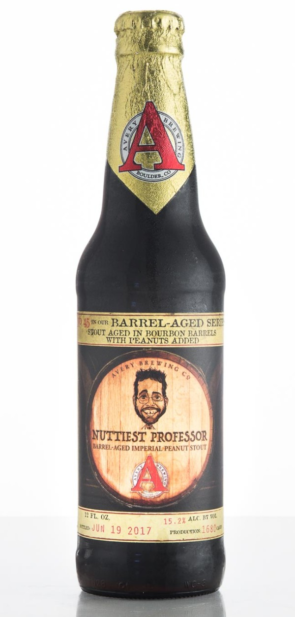 Avery Brewing Co. Nuttiest Professor