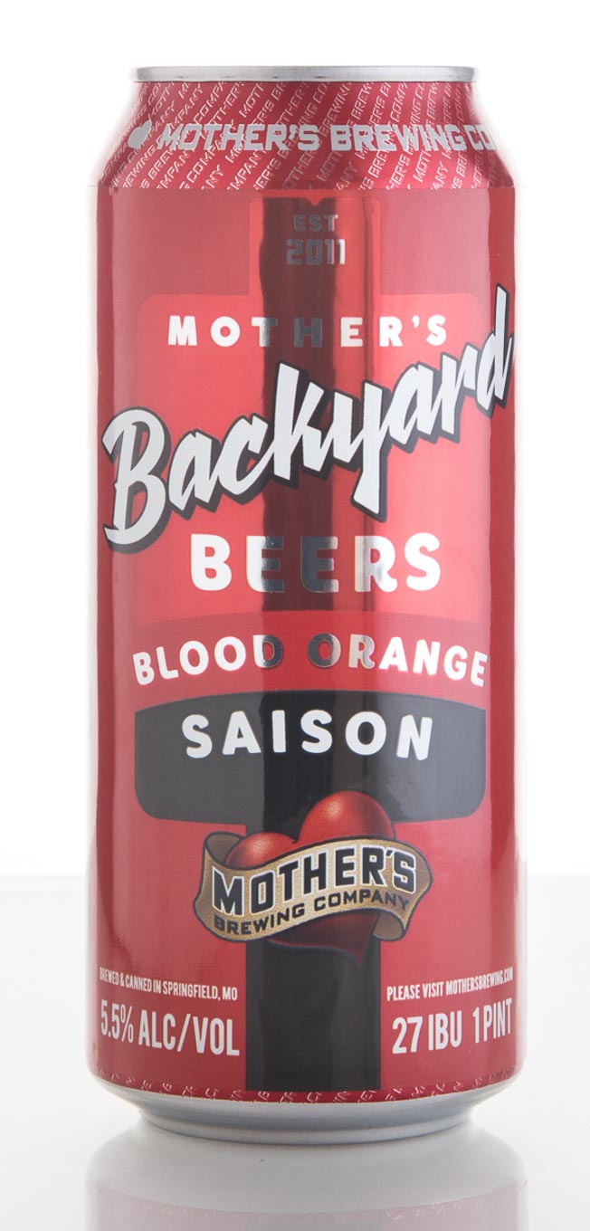 review mother 39 s brewing company blood orange saison craft beer brewing magazine. Black Bedroom Furniture Sets. Home Design Ideas