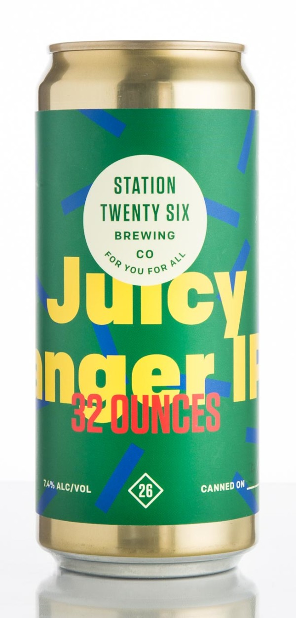 Station 26 Brewing Co. Juicy Banger IPA