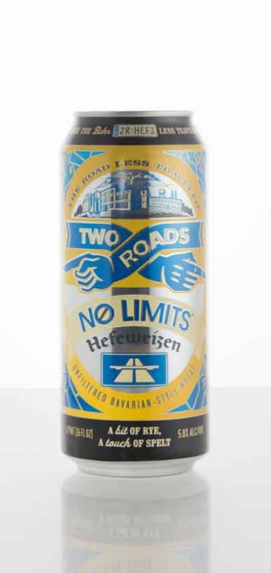 Two Roads Brewing No Limits Hefeweizen