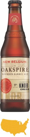 New Belgium Oakspire Bourbon Barrel AleImage