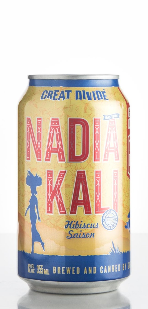 Great Divide Brewing Co. Nadio Kali Hibiscus Saison