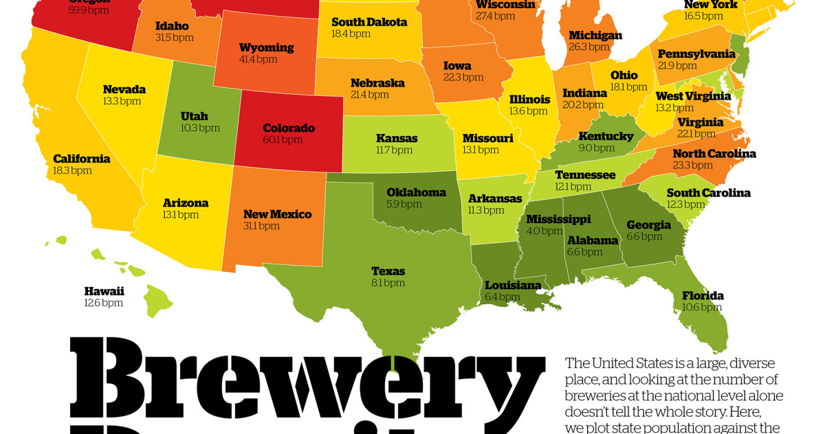 Brewery Density by State | Craft Beer & Brewing on indiana american map, indiana settlers, indiana building map, indiana breweries list, indiana sports map, marion county indiana zoning map, harrison county township map, indiana industrial map, kosciusko county township map, indiana county codes, indiana wine, indiana corrections inmate find, indiana road map detailed, indianapolis indiana map, indianapolis marion county township map, indiana school map, indiana telephone exchange map, jackson county indiana township map, shelby county indiana township map, indiana rail trail map,