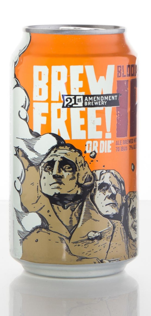 21st Amendment Brewery Blood Orange Brew Free or Die