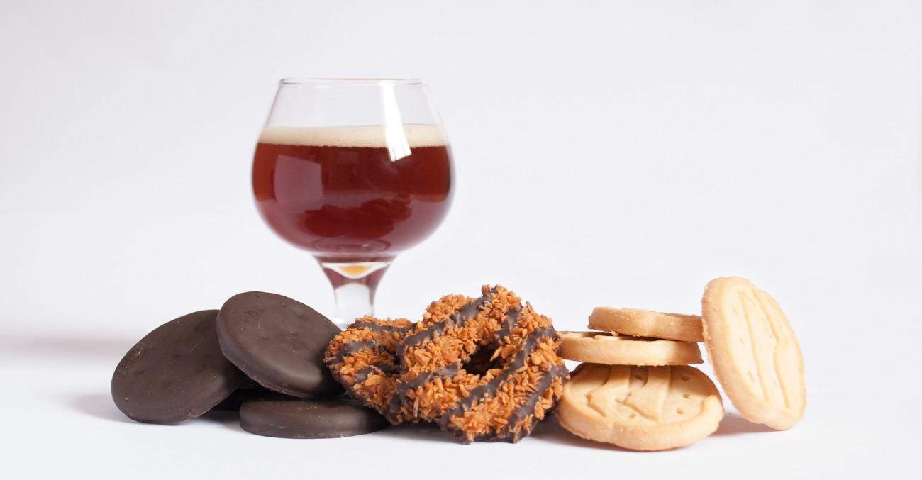 Craft Beer Girl Scout Cookie Pairings