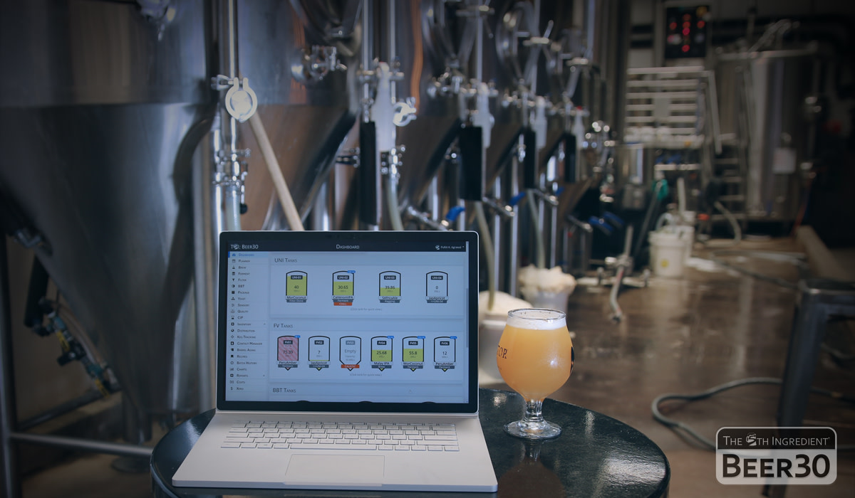 Evolution of Technology: Using Beer30 at Protector Brewery (San Diego, California).