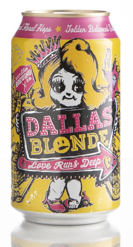 Review Deep Ellum Dallas Blonde Craft Beer Brewing