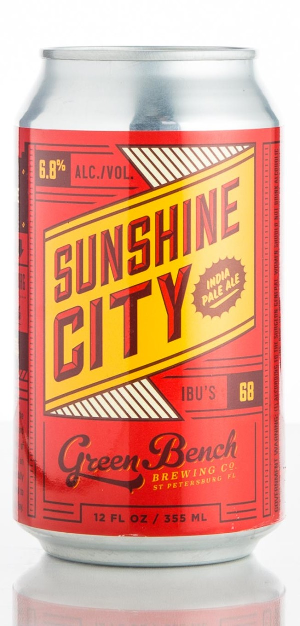 Green Bench Brewing Co. Sunshine City IPA